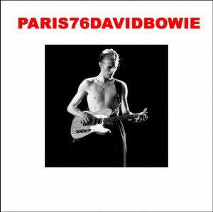 David Bowie 1976-05-17 Paris ,Pavillion de Paris - Paris 76 - SQ 7,5