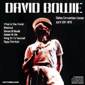 David Bowie 1978-04-10 Dallas ,Convention Center (Pre-Broadcast, LPCM Audio) - SQ 8,5