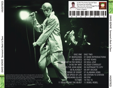 david-bowie-somwones-back-in-town-HUG070CD-backos