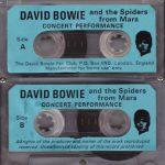 David Bowie 1972-10-07 Chicago ,Auditorium Theatre (RAW) - SQ 6