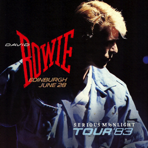 David Bowie 1983-06-28 Edingburgh ,Murrayfield Stadium (2e gen.) – SQ 8,5