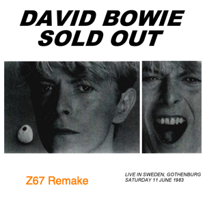 1983-06-11 Gothenburg ,Ullevi Stadium - Sold Out - (Z67 Remake) - SQ 8+