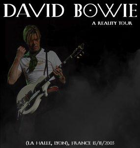 David Bowie 2003-11-15 Lyon ,Halle Tony Garnier ,Place Antonin Perrin - La Halle ,Lyon - SQ 8,5