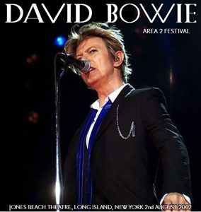 David Bowie 2002-08-02 Wantagh N.Y. ,Jones Beach Amphitheatre - Live @ The Beach 2002 - (Area 2 Festival) (Off Master) - SQ 8,5