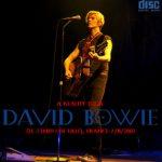 David Bowie 2003-11-07 Lille ,La Zenith Lille – Le Zenith De Lille – SQ 8+