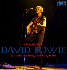 David Bowie 2003-11-07 Lille ,La Zenith Lille - Le Zenith De Lille - SQ 8+