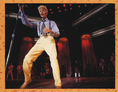 David Bowie 1983-07-18 Philadelphia ,Spectrum Arena - Pull The Blinds - SQ 8,5