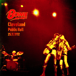 David Bowie 1972-11-25 Cleveland ,Public Auditorium (Master Joe Ray Skrha and Remaster by Learm) - SQ -8