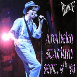 David Bowie 1983-09-09 Anaheim (Los Angeles) ,Anaheim Stadium - Live In Anaheim - (RD) - SQ 8