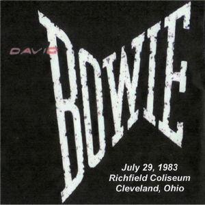 David Bowie 1983-07-29 Richfield (Cleveland) , Richfield Coliseum - SQ 7,5