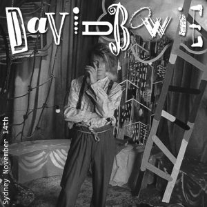 David Bowie 1987-11-14 Sydney ,Entertaiment Centre Centre (Zannalee1967) - SQ 7,5