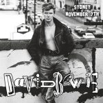 David Bowie 1987-11-07 Sydney ,Entertainment Centre - Live in Sydney with Charlie Sexton - (Z67 - Steveboy remake) - SQ 8