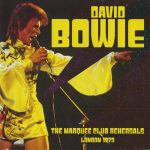 David Bowie 1973 august 18-20 London ,The Marquee Club - The Marquee Club Rehearsals London 1973 - SQ 9