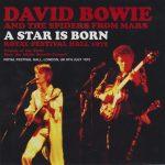 David Bowie 1972-07-08 London ,Royal Festival Hall - A Star is Born - (Wardour-287) - SQ 7,5