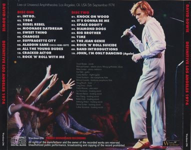 DAVID-BOWIE-Definitive-Los Angeles-1974-Tray