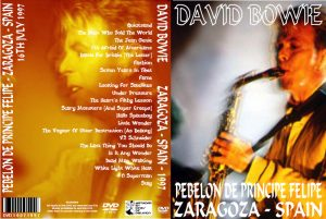 David Bowie 1997-07-16 Zaragoza ,Pebellon De Principe Felipe (audience dvd)