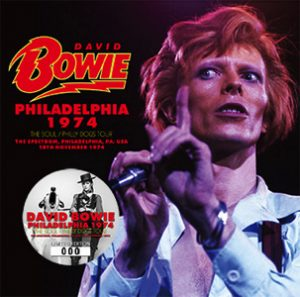 David Bowie 1974-11-18 Philadelphia ,Spectrum Theatre - Philadelphia 74 - (Wardour-234) - SQ -8