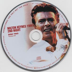 david-bowie-Milton-Keynes-1990-2nd-Night-Disc 2