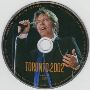 david-bowie-toronto-2002-Disc