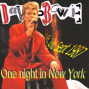 David Bowie 87-09-01 New York ,Madison Square - One night In New York - SQ -9