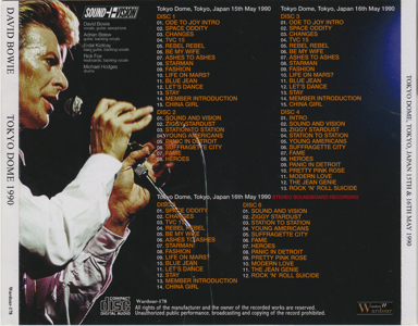 david-bowie-Tokyo Dome 1990-Rear Outer