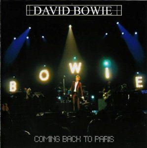 David Bowie 2002-09-24 Paris ,le Zenith - Coming Back To Paris - SQ 9,5