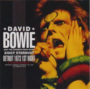 David Bowie 1973-03-01 Detroit ,Masonic Temple Auditorium - Detroit 1973 1st Night - (Wardour-229) - SQ 7,5