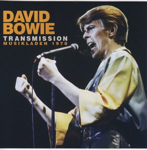 David Bowie Transmission Musikladen 1978 (Musikladen 78, Berlin 78 EP, Dallas Convention Centre 78) (wardour-259) - SQ 9