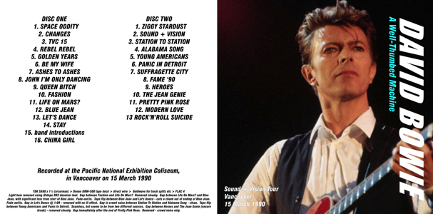 david-bowie-a-well-thumbed-machine-HUG149CD-frontos