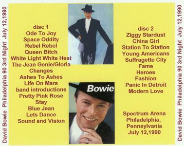 1990.07.12 - Philadelphia, Spectrum Arena - 3rd Night - Back