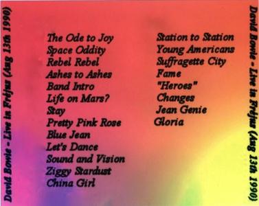 1990.08.13 - Frejus, France, Les Arenes - Sound And Vision Tour - Back