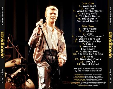 David Bowie Marseilles 1978-05-27-bk