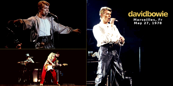 David Bowie Marseilles 1978-05-27-fr
