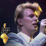 David Bowie 1985-07-13 London ,Wembley Stadium - Live Aid - SQ 9,5