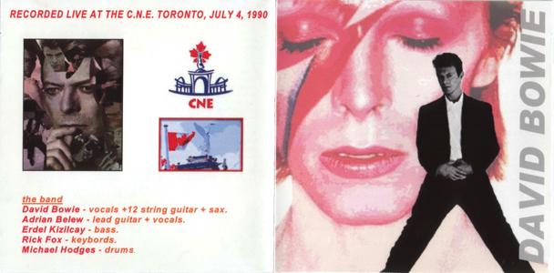 david-bowie-toronto, C.N.E. Stadium - C.N.E. Toronto - Front