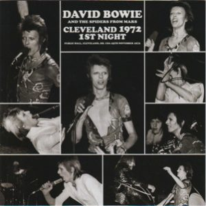 David Bowie 1972-11-25 Cleveland ,Public Auditorium - Cleveland 1972 1st Night - (Wardour-218) - SQ 8,5