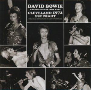 David Bowie 1972-11-25 Cleveland ,Public Auditorium - Cleveland 1972 1st Night - (Wardour-218) - SQ 8,5