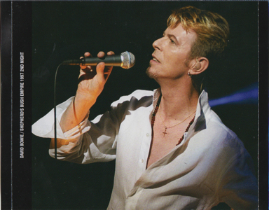 david-bowie-shepherd's-bush-empire-1999-2nd-night-Front - OuterTray - Inner