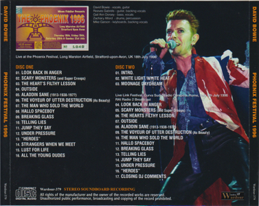 DAVID-BOWIE-Phoenix-Festival-1996-Tray - Outer