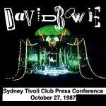 David Bowie 1987-10-27 Sydney ,Tivoli Club (press conference's) – SQ 8
