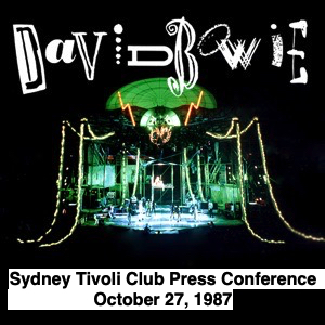 David Bowie 1987-10-27 Sydney ,Tivoli Club (press conference's) - SQ 8
