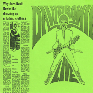 David Bowie Alarm (compilation 1977-1980 with others) (Vinyl) - SQ 7-8