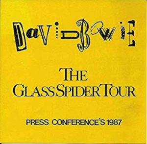 David Bowie The Glass Spider press conference's 1987 - SQ 8+