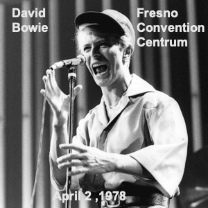 David Bowie 1978-04-02 Fresno ,Selland Arena (TTD) - SQ 8+