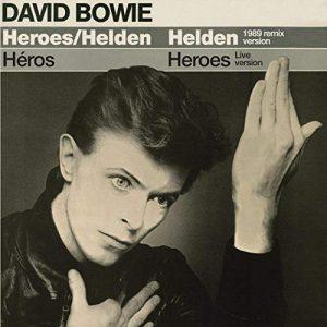 """David Bowie """"Heroes / Helden"""" (1989 remix version) - SQ 9,5"""