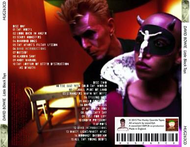 DAVID BOWIE LITTLE-BLACK-TOYS-HUG263CD-BACKOS