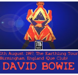 David Bowie 1997-08-01 Birmingham ,Que Club (DAT recording) - SQ 8,5