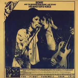 David Bowie 1973-07-03 London ,Hammersmith Odeon - His Master's Voice - (vinyl) (2) - SQ 9