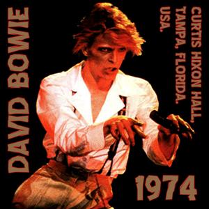 David Bowie 1974-07-02 Tampa ,Curtis Hixon Hall - SQ -8