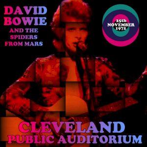 David Bowie 1972-11-25 Cleveland ,Public Auditorium - Cleveland Public Auditorium - SQ -8